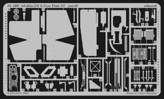 Eduard Sd.Kfz.7/2 Flak 37 37mm (Tamiya)