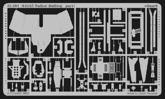 Eduard M41A3 Walker Bulldog (AFV Club)