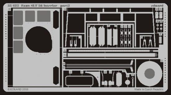 Eduard Faun SLT 56 interior (Trumpeter)