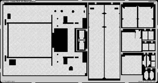 Eduard Faun SLT 56 floor plates (Trumpeter)