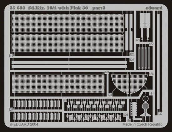 Eduard Sd.Kfz.10/4 with Flak 30 (Italeri)