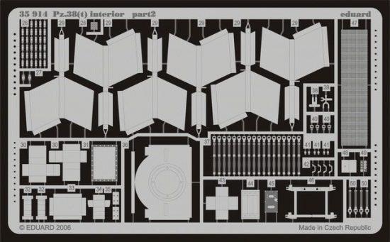 Eduard Pz.38(t) interior (Tristar)