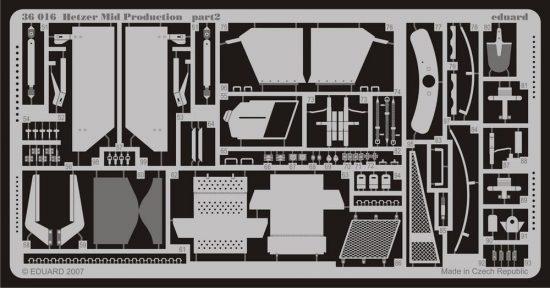Eduard Hetzer Mid. Production (Tamiya)