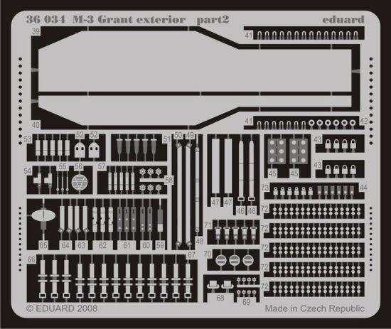 Eduard M-3 Grant exterior (Academy)