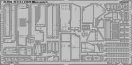 Eduard M-1134 ATGM blast panels (AFV Club)