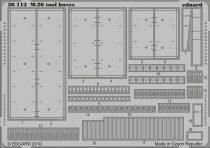 Eduard M-26 tool boxes (Hobby Boss)