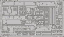 Eduard M-1131 blast panels (Trumpeter)