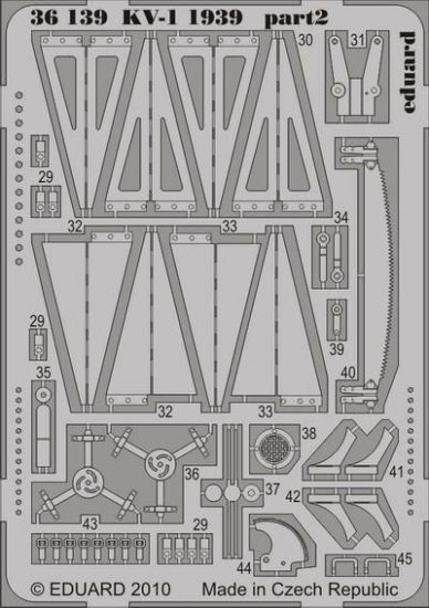 Eduard KV-1 1939 (Trumpeter)