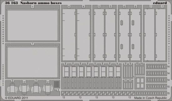 Eduard Nashorn ammo boxes (AFV Club)
