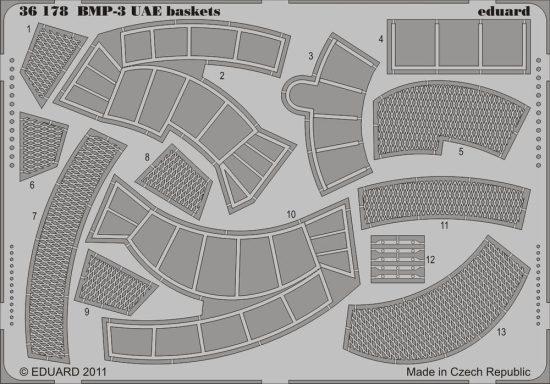 Eduard BMP-3 UAE baskets (Trumpeter)