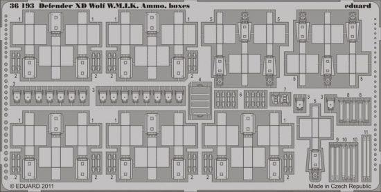 Eduard Defender XD Wolf W.M.I.K. Ammo Boxes (Hobby Boss)