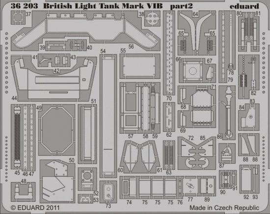 Eduard British Light Tank Mark VIB (Vulcan)