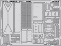 Eduard Churchill Mk.VI (AFV Club)