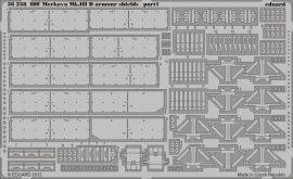 Eduard IDF Merkava Mk.IIID armour shields (Hobby Boss)