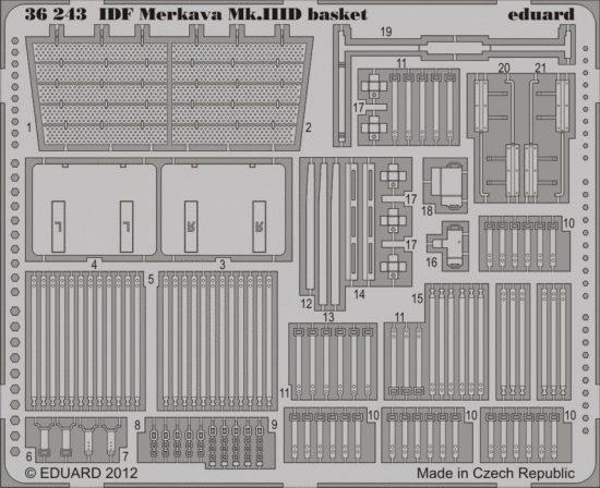 Eduard IDF Merkava Mk.IIID basket (Meng)