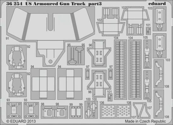 Eduard US Armoured Gun Truck (Italeri)