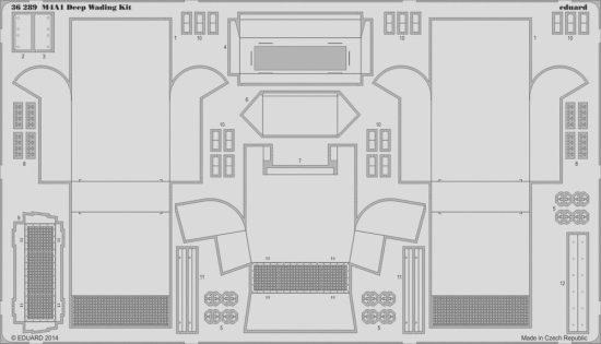Eduard M4A1 Deep Wading Kit (Eduard)