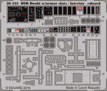 Eduard D9R Doobi w/ armor slats - interior (Meng)
