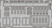 Eduard Valentine Mk. II/IV cannister holder (Tamiya)
