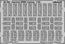 Eduard German WWII clamps