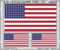 Eduard US ensign flag WWII STEEL