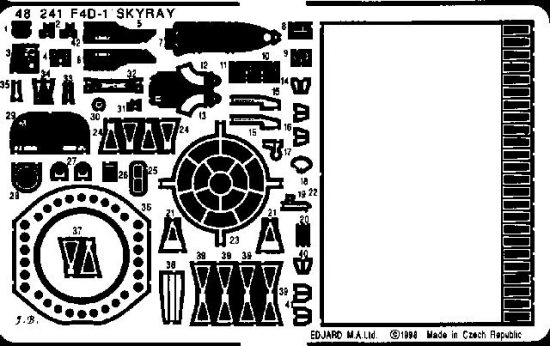 Eduard F4D-1 Skyray (Tamiya)