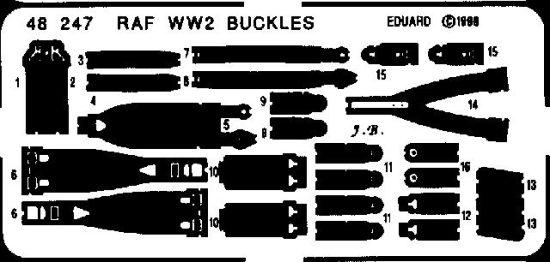 Eduard Seatbelts RAF WWII