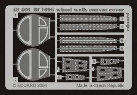 Eduard Bf 109G wheel wells canvas cover (Hasegawa)