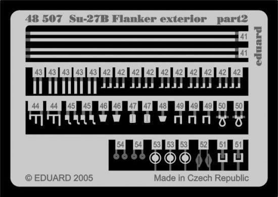 Eduard Su-27 Flanker B exterior (Academy)