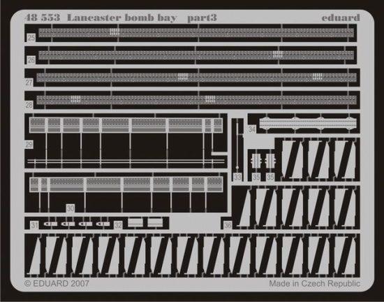 Eduard Lancaster bomb bay (Tamiya)