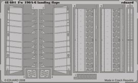 Eduard Fw 190A-6 landing flaps (Hasegawa)