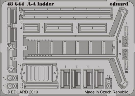Eduard A-4 ladder (Hasegawa)