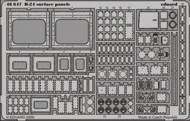 Eduard B-24 surface panels (Revell)