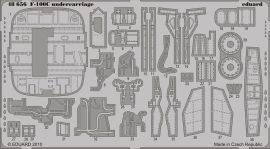 Eduard F-100C undercarriage (Trumpeter)