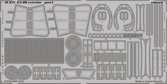 Eduard EA-6B exterior (Kinetic)
