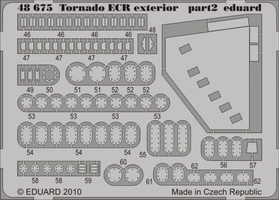 Eduard Tornado ECR exterior (Hobby Boss)