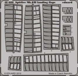 Eduard Spitfire Mk.I/II landing flaps (Airfix)