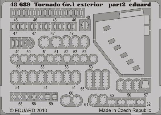 Eduard Tornado Gr.1 exterior (Hobby Boss)