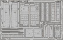 Eduard S-3 undercarriage (Italeri)