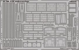 Eduard S-2E undercarriage (Kinetic)