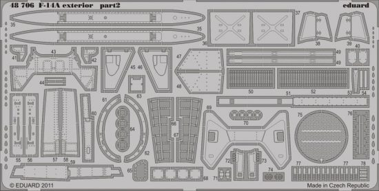 Eduard F-14A exterior (Hobby Boss)