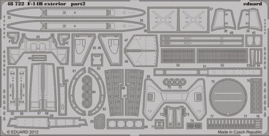 Eduard F-14B exterior (Hobby Boss)