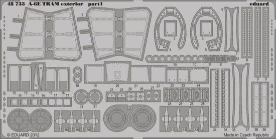 Eduard A-6E TRAM exterior (Kinetic)