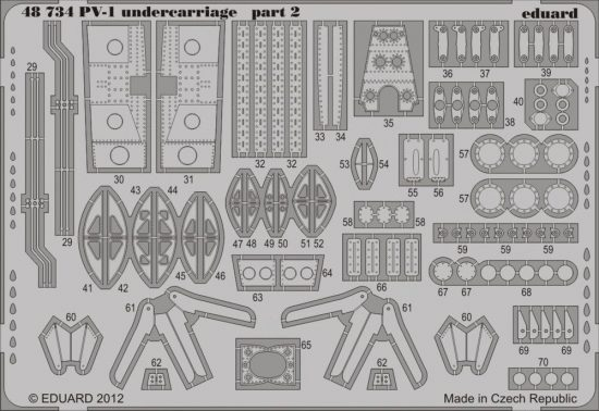 Eduard PV-1 undercarriage (Revell)