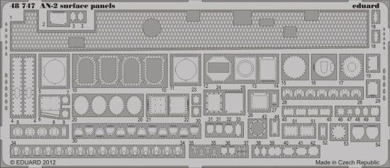 Eduard An-2 surface panels (Hobby Boss)