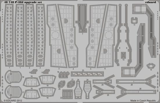 Eduard P-38J upgrade set (Eduard)