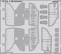 Eduard F-4B airbrakes (Academy)