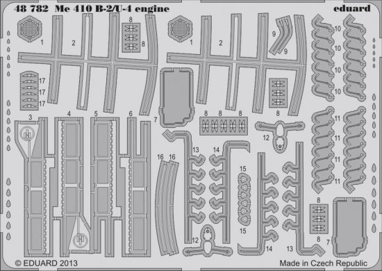 Eduard Me 410B-2/U-4 engine (Meng)