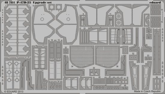 Eduard P-47D-25 upgrade set (Eduard)