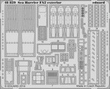 Eduard Sea Harrier FA2 exterior (Kinetic)